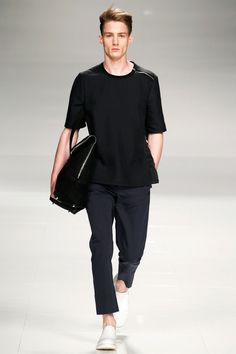 Iceberg Spring 2014 Menswear Collection Slideshow on Style.com