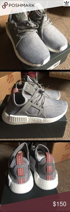 cdead26fa5bd6 Adidas NMD XR1 NWT Adidas NMD XR1 never been worn. Grey knitted upper with  cage
