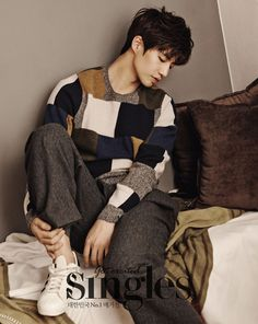 Song Jae Rim Has Nothing To Sweat About In February Pages Of Singles   Couch Kimchi