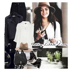 """""""TV Show: Pretty Little Liars"""" by junglover ❤ liked on Polyvore featuring Rodarte, Garance Doré, J.W. Anderson, Topshop, rag & bone, Yves Saint Laurent and Proenza Schouler"""