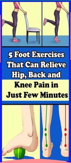 These 5 Exercises Will Help You With Hip, Knee or Foot Pain
