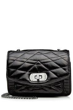 ZADIG & VOLTAIRE Quilted Leather Shoulder Bag. #zadigvoltaire #bags #shoulder bags #leather #