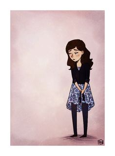 This is Clara, when the Eleventh Doctor regenerated. Fan art
