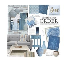 """Simplicity & Order"" by ellergy ❤ liked on Polyvore featuring interior, interiors, interior design, home, home decor, interior decorating, Tom Dixon, Inspire Q, WALL and NOVICA"