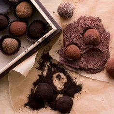 Treat your valentine to homemade truffles.