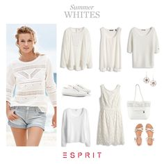 Romantic #lace, airy #knit and #casual #cuts – with our #Esprit #styles we get in the mood for #summer!