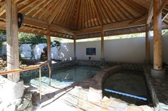 日本初の「室戸海洋深層水露天風呂」でたっぷりとたたえられた海洋深層水をお楽しみいただけます。