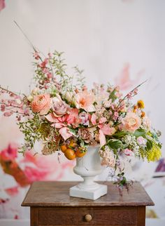 Photography : Rebecca Yale Photography | Floral Design : Tulipina Floral Design Read More on SMP: http://www.stylemepretty.com/2017/02/12/winter-to-spring-floral-editorial/