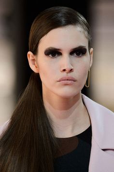 Looks From PFW Fall 2015: Christian Dior #makeup #fashion