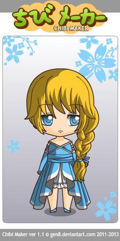 Elsa (Frozen) Chibi Maker