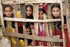 the Kurdish children in Hawraman