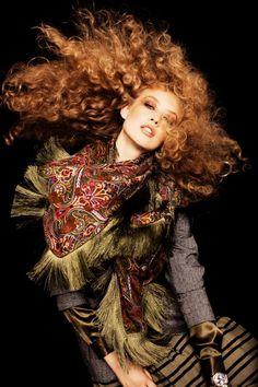 """Rosanne Doosje photographed by Joel Rhodin in """" Boho Chic"""" for Elle Sweden October 2010"""