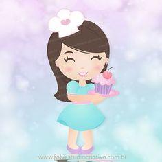 mascote fofa, menininha fofa, boneca personalizada, menina personalizada…