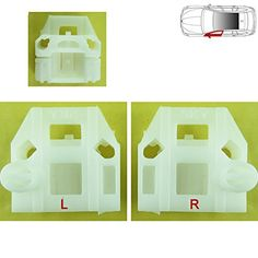 Near side AUDI A3 ELECTRIC AND MANUAL WINDOW REGULATOR REPAIR CLIPS FRONT LEFT SIDE UK Passenger Side 1996-2003 N//S