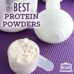 Dr Oz said that protein powder is not just for men, and showed some types of protein powder for women: brown rice, egg white, and casein protein powder. Casein Protein Powder, Brown Rice Protein Powder, Protein Powder For Women, Best Protein Powder, Whey Protein, Protein Smoothies, Healthy Drinks, Healthy Tips, Healthy Eating