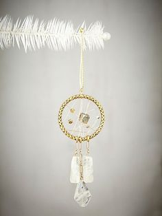 Aiyanna Dream Catcher Ornament by Vanessa Mooney #freepeople #holiday #ornament