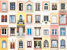 André Vicente Goncalves - Windows of the World - Coimbra Alcacer Do Sal, Brick Paper, Monsaraz, Mexican Hacienda, Building Front, Building A Container Home, Goncalves, Window Design, Photography Projects