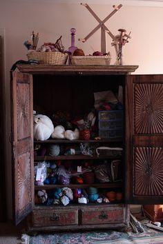 former dvd closet http://craftstorageideas/13-in-2013-yarn