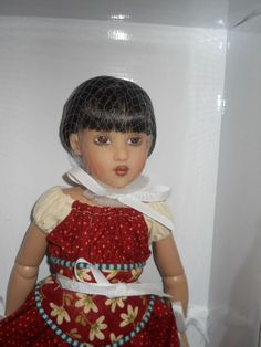 """Helen Kish Doll - """"Raven Hi Tops & Ruffles"""" Chrysalis Collection. SOLD for $200.00 on 7/28/14."""