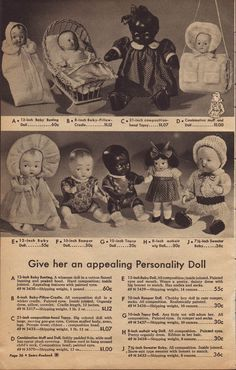 Doll advertise 1943