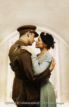 Trevillion Images - historical-couple-embracing