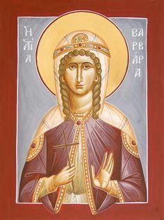 St Barbara www.ikonographics.net