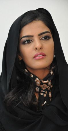 Ashima Safar inspiration - Princess Amira al-Taweel of Saudi Arabia.