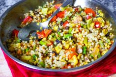 Curried Israeli Couscous Recipe | ChefDeHome.com