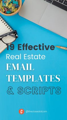 Engage your leads with 19 of the best real estate email templates & scripts plus 15 rules for writing your own killer real estate emails. Email Templates, Real Estate Marketing, Scripts, Writing, Being A Writer