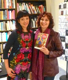 Poet, Angela Narciso Torres with Deb Nystrom | It's really cool when a published poet, who tours, friends you on Facebook. Flickr Photo Set > Book, Blood Orange