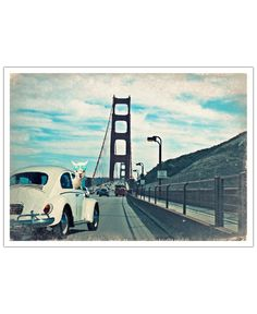 Never Stop Exploring the Golden Gate Bridge of Monika Strigel now on JUNIQE!