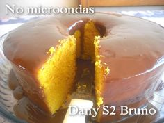 Bolo de Cenoura de Microondas - Culinária-Receitas - Mauro Rebelo Party Desserts, Party Cakes, Dessert Recipes, Banana Com Chocolate, Sweet Soup, 30 Minute Meals, Yams, Sweet Recipes, Food And Drink