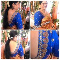 Cutwork Blouse Designs, Blouse Designs Silk, Designer Blouse Patterns, Design Of Neck, Mirror Work Blouse, Indian Beauty Saree, Indian Designer Wear, Blouse Styles, Clothes For Women