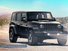Next Gen jeep wrangler Rendering