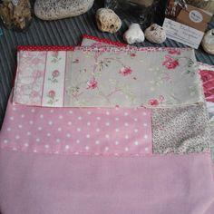 Sac fleuri rose - toile de Luz