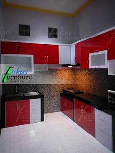 kitchen set minimalis hpl custom