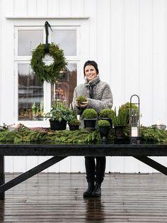 Made In Persbo: Floristens Jul är grön