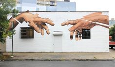 James Bullough is an american artist based in Berlin, Germany. His paintings are a subtle combination between hyperrealism portraits and graphical compositions. With oil, ink and spray, he creates on … Henri Matisse, Banksy, Plant Wallpaper, Office Wallpaper, A Level Art, Art Hoe, Portrait Shots, Woman Painting, Street Artists