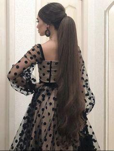 Really Long Hair, Super Long Hair, Loose Hairstyles, Ponytail Hairstyles, Updo, Girl Photo Poses, Girl Photos, Long Hair Wedding Styles, Long Hair Styles