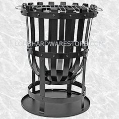 Steel garden brazier incinerator with barbeque grill included. BBQ and incinerator combined great as an allotment burner or to get rid of garden waste. Wood Fire Pit, Steel Fire Pit, Fire Pits, Fire Basket, Metal Pergola, Pergola Patio, Real Fire, Outdoor Chairs, Outdoor Decor