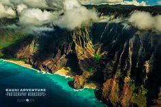 Flying Over the Napali Coast, Kauai- Taken on the Kauai Adventure Photography Workshop www.kauaiphotoworkshops.com