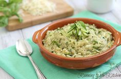 Cheesy Zucchini Quinoa from Tasty Kitchen. Can't decide if I should make this or the zucchini quinoa patties tonight Side Recipes, Veggie Recipes, Vegetarian Recipes, Cooking Recipes, Healthy Recipes, Bariatric Recipes, Cooking Ideas, Quinoa Zucchini, Quinoa Cake