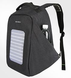 2018 New Solar Charging Backpack for Men and Women Travel Business Bags 16  Inch Laptop Fashion School Bag bagpack mochila 1909 fc847067f13f