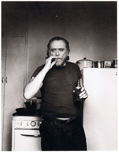 Charles Bukowski.  One of the greatest writers of the past century. Wrote incredibly raw material, and will forever be one of my favorite writers.