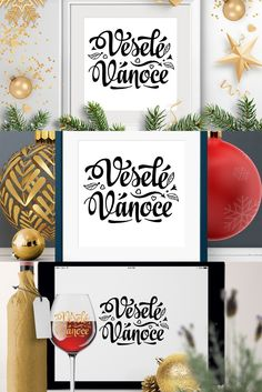 Prague Christmas, Prague Winter, Christmas Quotes, Christmas Svg, Christmas Invitations, Typography, Lettering, Holiday Postcards, Pattern And Decoration