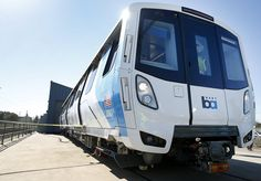 BART's new train car crashes at Hayward test facility - San Francisco Chronicle Police Test, Police Academy, Bart San Francisco, British Police Cars, Bay Area Rapid Transit, Police Officer Requirements, Law Enforcement Jobs, Underground Tube, S Bahn