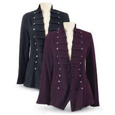 Reversible Button Jacket