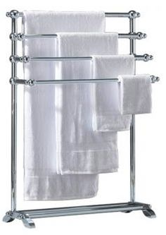 Floor Standing Towel Racks Free Standing Towel Rack With Yellow Towel Towel Racks
