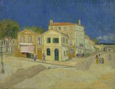 The Yellow House (The Street), 1888, Vincent van Gogh, Van Gogh Museum, Amsterdam (Vincent van Gogh Foundation)