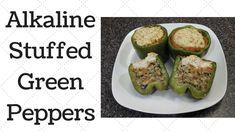 Stuffed Green Peppers Alkaline Electric Recipe